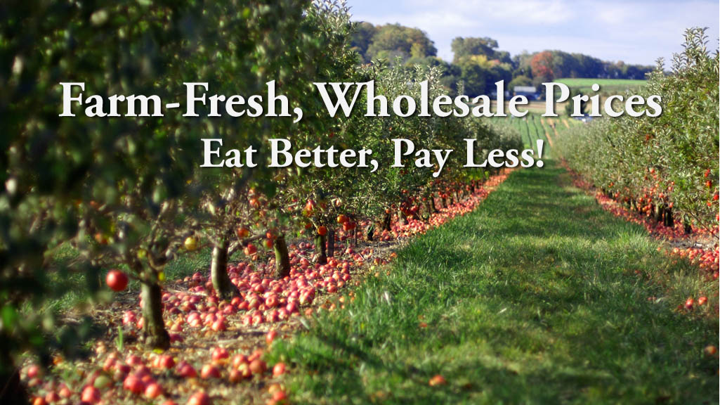 Farm-Fresh. Wholesale Prices. Always 30-50% OFF and Free Delivery