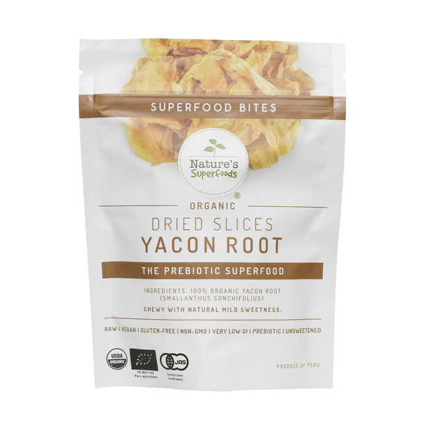 ORGANIC DRIED SLICES YACON ROOTS 40G - Singapore's Healthiest Online